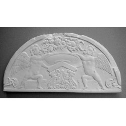 BAS RELIEF - 2 ANGES