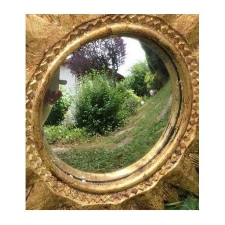 Miroir concave atelier ingrain ludot for Miroir convexe concave